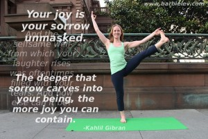 Your joy is your sorrow unmasked