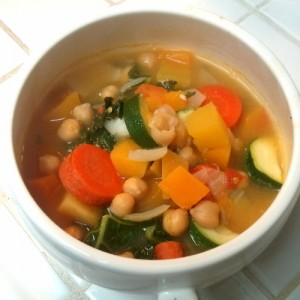 Winter Veggie Soup