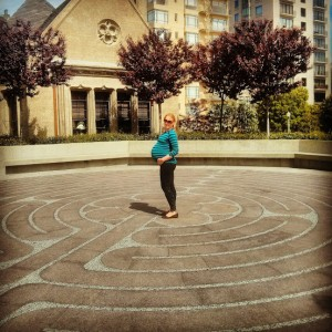 Grace Cathedral Outdoor Labyrinth